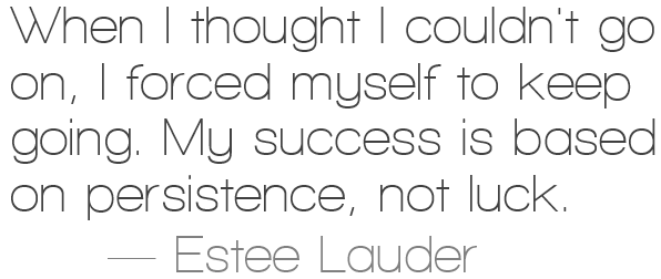 Estee Lauder quote